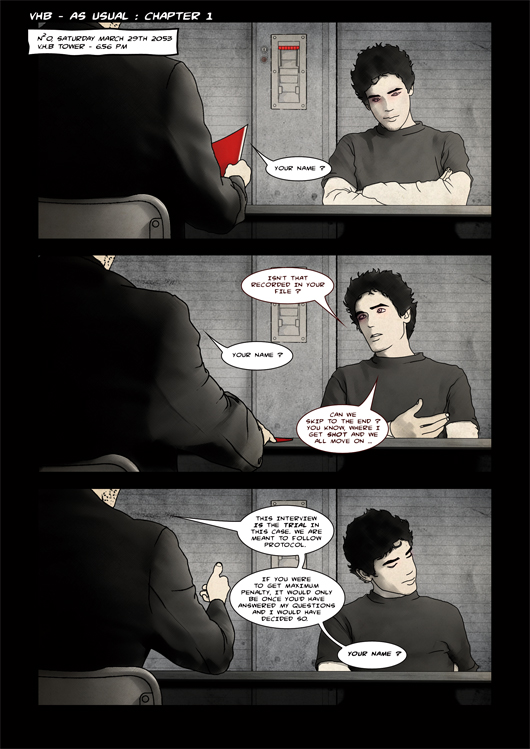 Page 1 - As Usual Chapter 1 - By Lokorst & Santos