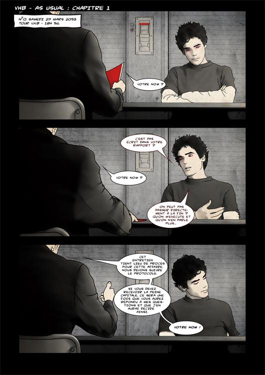 Page 1 - As Usual Chapitre 1 - Par Lokorst & Santos